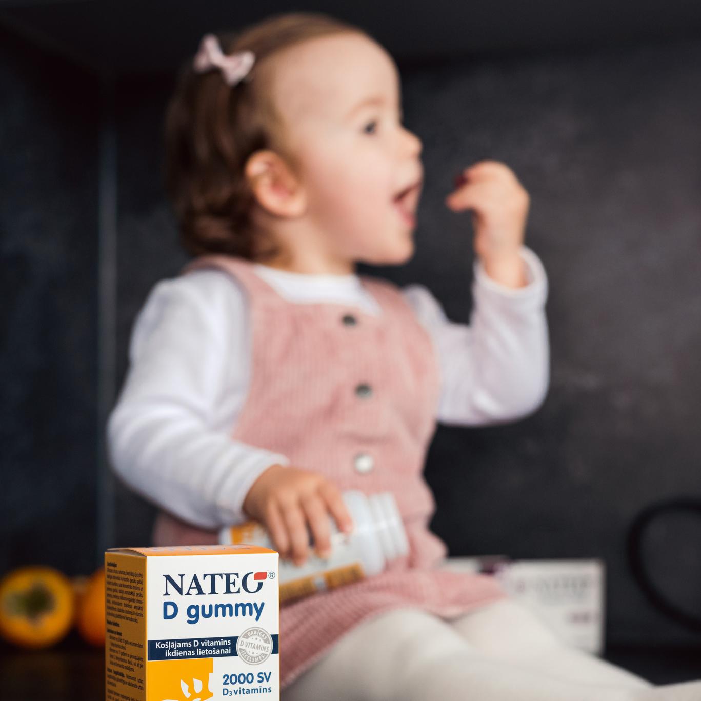 Garšīgs Nateo D vitamīns