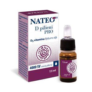 Efektīvs D vitamīns pilienos pieaugušajiem
