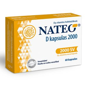 D vitamīna kapsulas