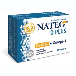 D vitamīns ar Omega-3