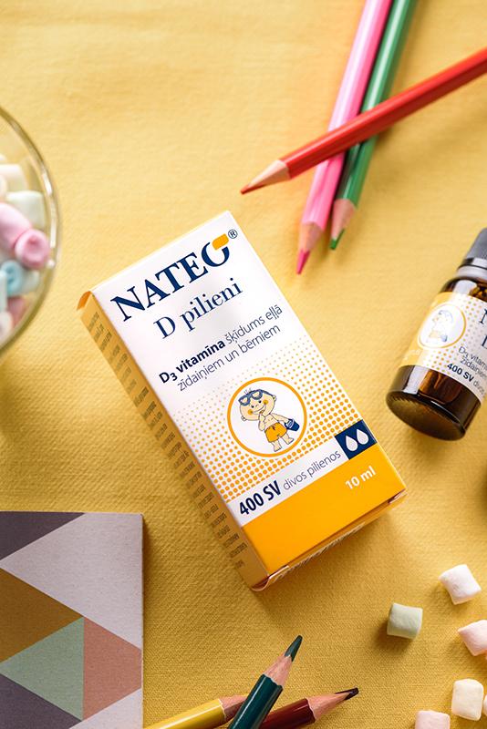 D vitamīns zīdaiņiem, jaundzimušajiem, bērniem